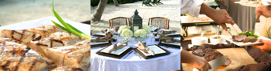 Florida Keys Wedding Menus