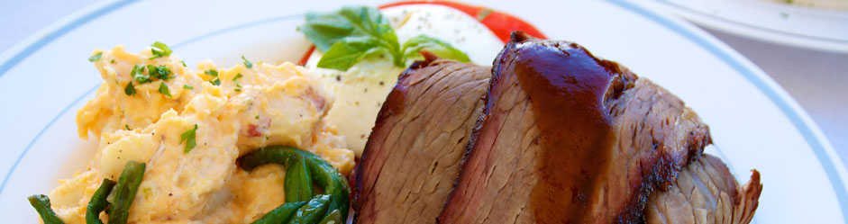 BBQ Brisket Plate, BBQ Catering