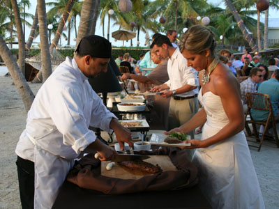 Miami reception catering | Smoke and Spice