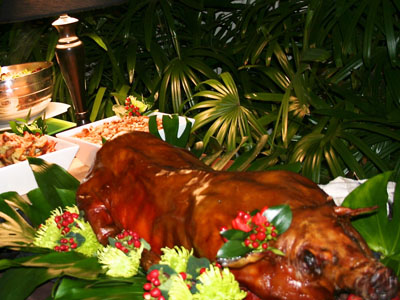 Holiday Caterer with Pig Roast