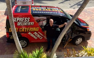 Catering Delivery Van